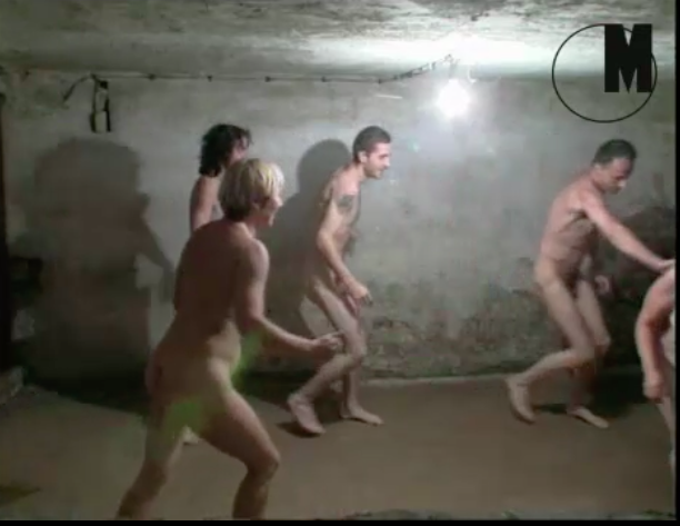 Anger at naked game filmed in Stutthof Nazi gas chamber