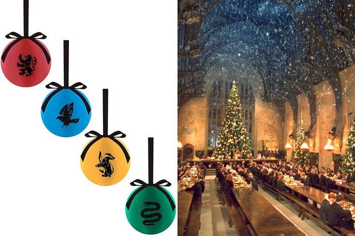 Vienen en packs de cuatro con una bola con el color y el escudo de cada casa (Gryffindor, Ravenclaw, Hufflepuff y Slytherin).Precio: 9,75 euros.