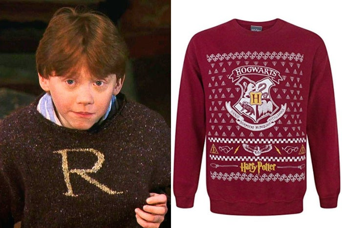 El jersey perfecto para celebrar la Navidad, tanto si te quedas en Hogwarts como si vuelves a casa con tu familia.Precio: 29,99 euros.