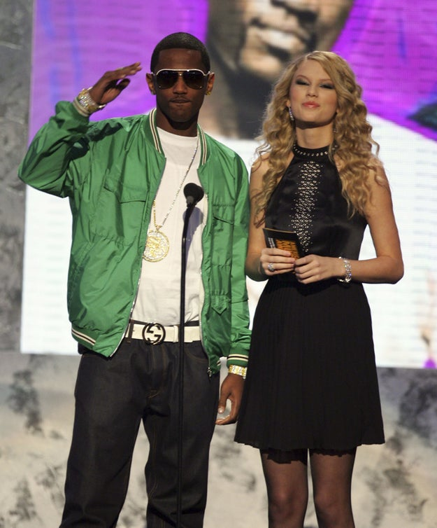 And presenting a Grammy with rapper Fabolous.
