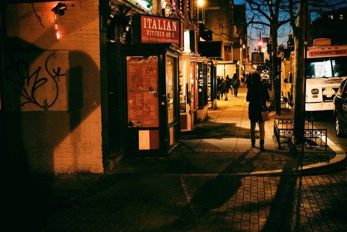 U Street in Washington, DC.