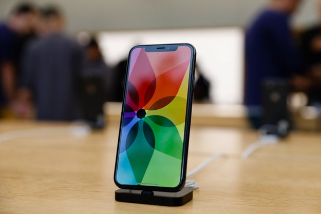 Apple's iPhone X began arriving in stores in recent days and fans are flocking to get their hands on the latest model.