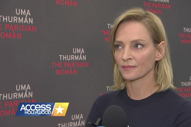 Uma Thurman's Response To The Weinstein Scandal Is Incredibly Raw