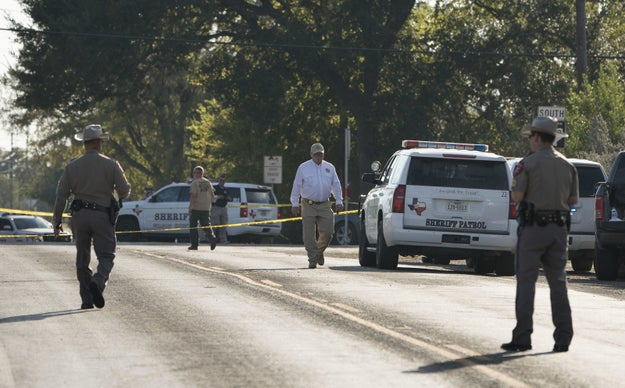 Gunman shot dead after opening fire in Texas church