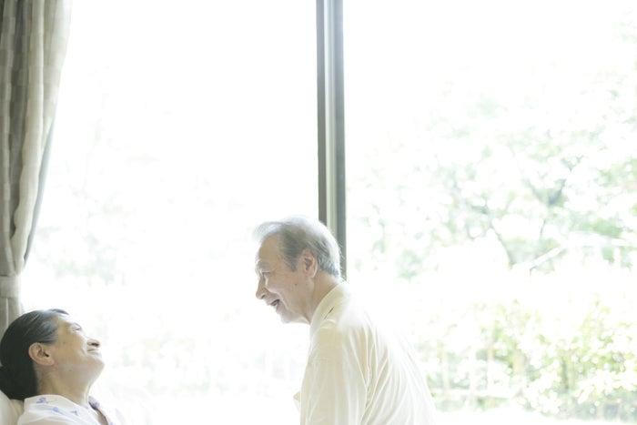 老老介護の世帯も増えてきている。
