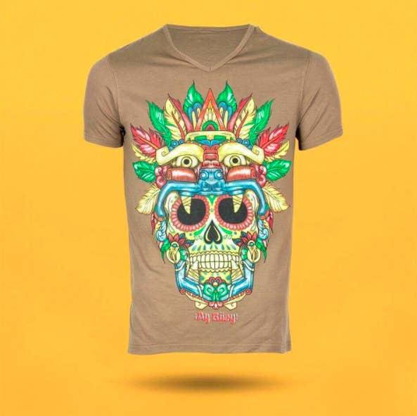 994823a20ba69 Sus diseños están inspirados en el México prehispánico