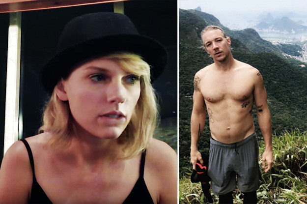 Taylor Swift Fans Are Calling Diplo The Fuck Out After He Reportedly Threw Shade At Her