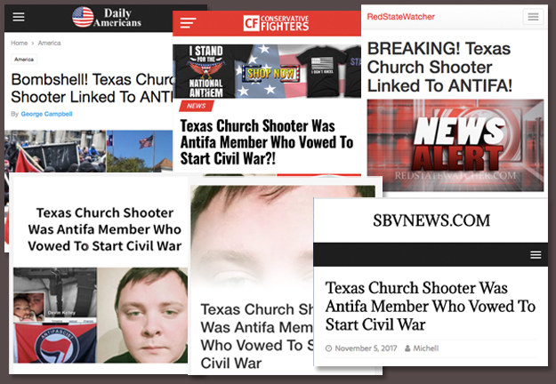 The misinformation also continues to gain traction on conservative websites, with thousands sharing, liking, and commenting on the articles.