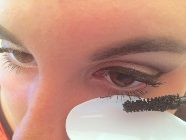 Maybe you use a spoon under your lower lashes, to avoid getting mascara beneath your eyes.