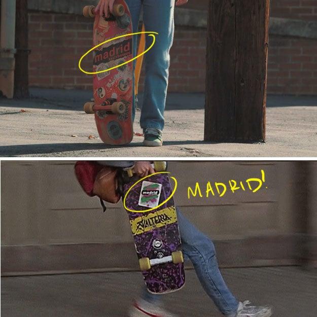 Ele tem um design diferente, mas é a mesma marca, Madrid.