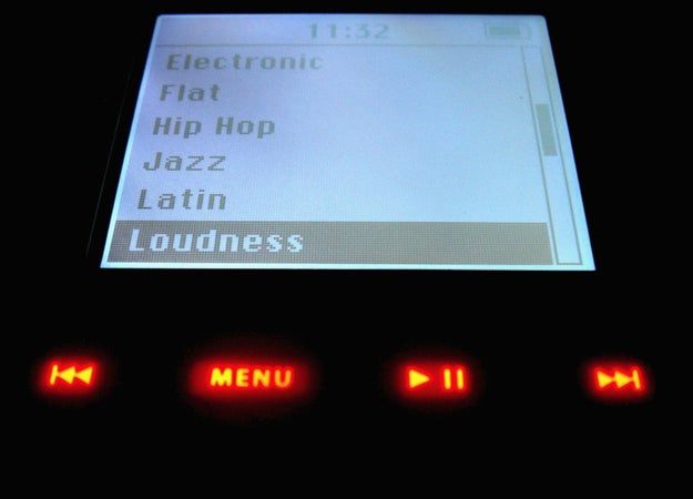 Adjusting the loudness on your iPod so that you could make it even louder.