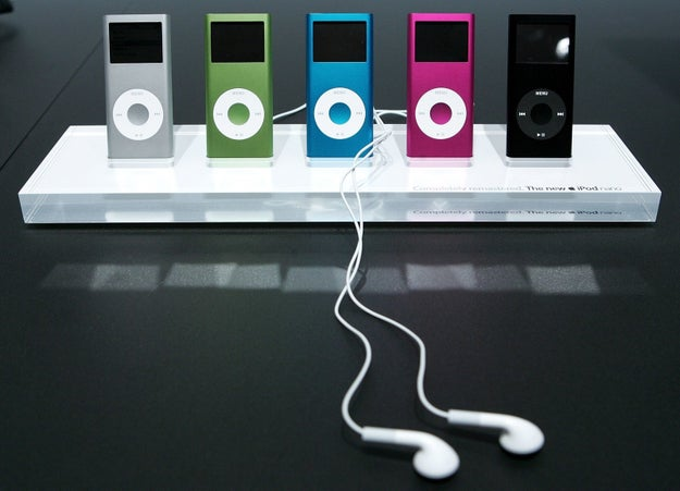 Wanting every color of iPod Nanos available (even if you were a diehard Classic person).