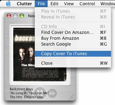 Uploading covers (if they didn't automatically download) onto your iTunes, so that you could see the album artwork whenever you clicked onto a song or album you liked.