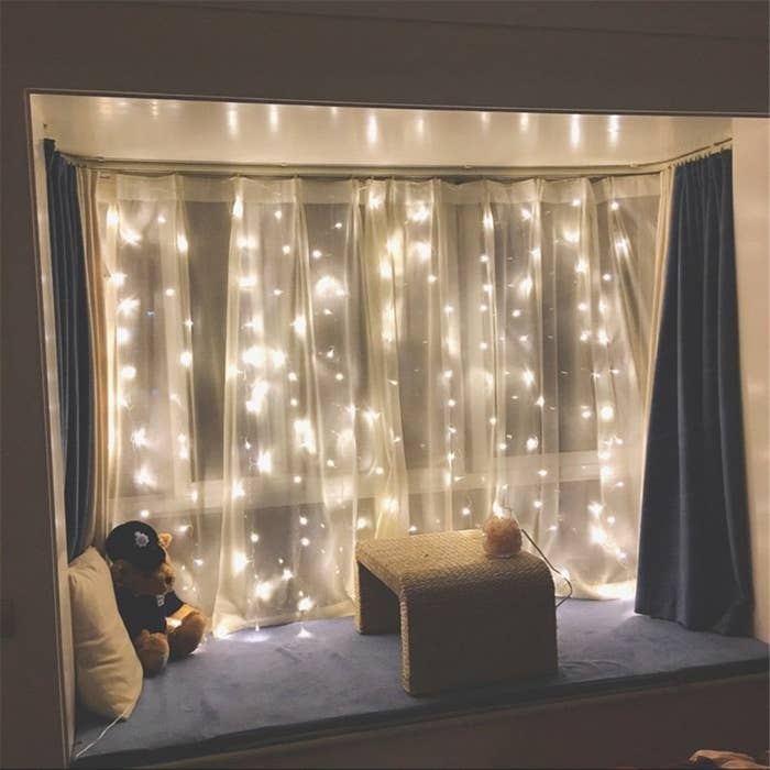 """Except in this version, no one dies and there's a happy ending. I love a happy ending. Promising review: """"These lights added such a cozy touch to my dining room, and are perfect for my small apartment! Let's just hope my cats don't try to play with them..."""" —Brandon Youngman Get them from Amazon for $16.99."""