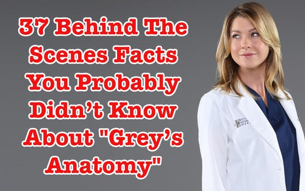 37 Behind The Scenes Facts You Probably Didn't Know About