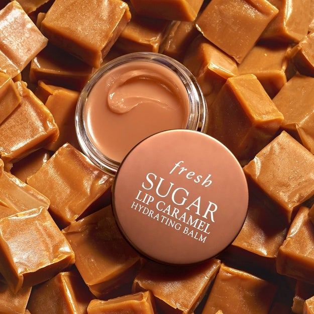 A hydrating caramel lip balm as sweet and addictive as the candy without the stickiness.