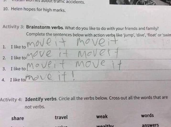 People Who Probably Failed Their Test But Succeeded In Life - 38 test answers totally wrong 100 genius