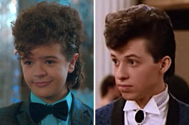 """""""A Garota de Rosa Shocking"""" só foi lançado em 1986, mas, mesmo assim, amei a comparação."""
