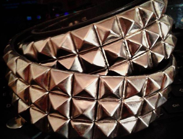 You owned at LEAST one studded belt to show off how edgy you were.