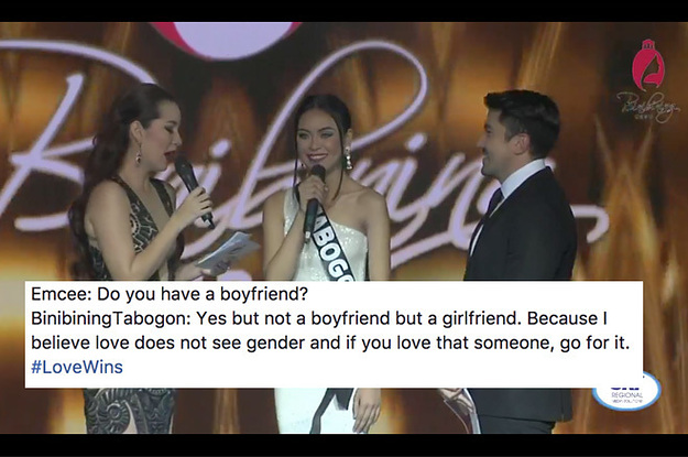 People Are Inspired By This Beauty Pageant Contestant Who Spoke About Her Girlfriend
