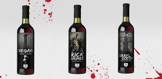 """The Walking Dead"" wine collection will feature three bottles inspired by the hit AMC show. You can buy them for a limited time starting today on Lot18."