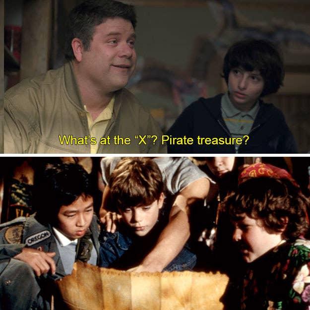 Porque, ya sabes, es exactamente lo que Sean Astin (Bob) y sus amigos hicieron en Los Goonies.