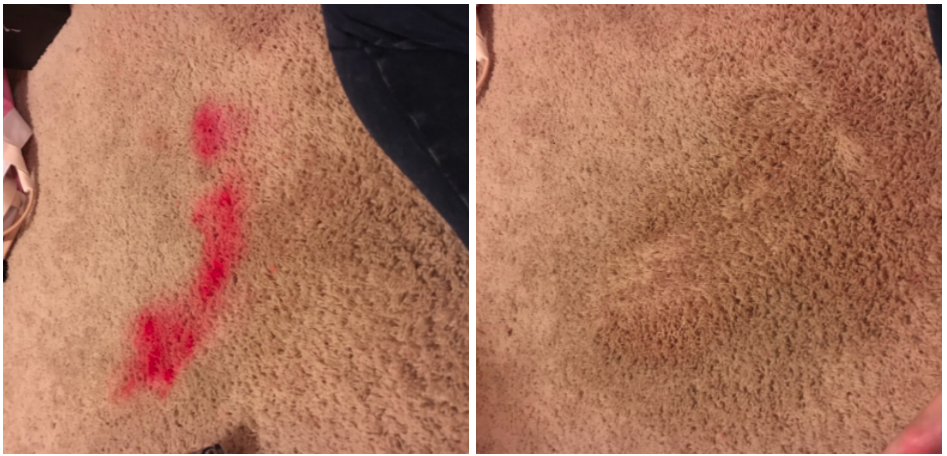 This Carpet Cleaner Makes Stains Vanish Before Your Eyes