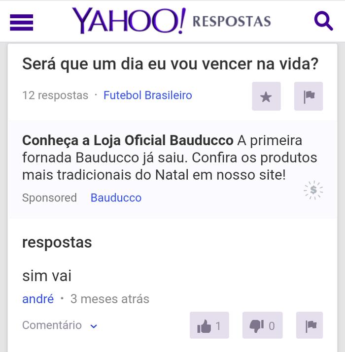 Tudo Que Você Estiver Passando Na Vida Já Perguntaram No Yahoo Respostas