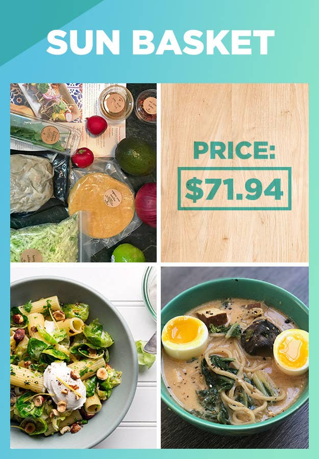 Heres how 8 meal kits actually stack up in the kitchen organic ingredients creative and delicious recipes and plenty of vegetarian gluten free and paleo options overall it was my favorite meal kit solutioingenieria Choice Image