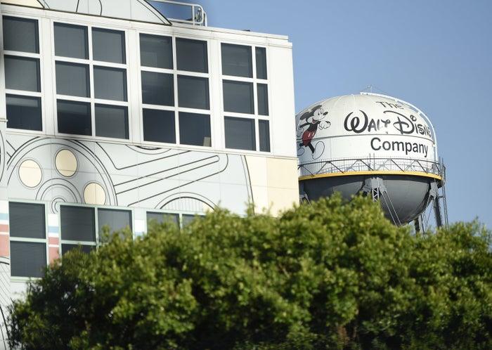 The Walt Disney Studios lot is pictured in Burbank, Calif.