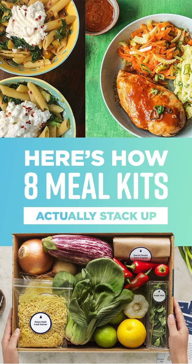 Here's How 8 Meal Kits Actually Stack Up In The Kitchen