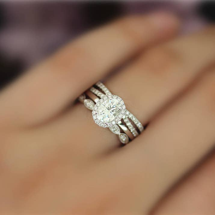 mywedding traditional non wedding engagement rings