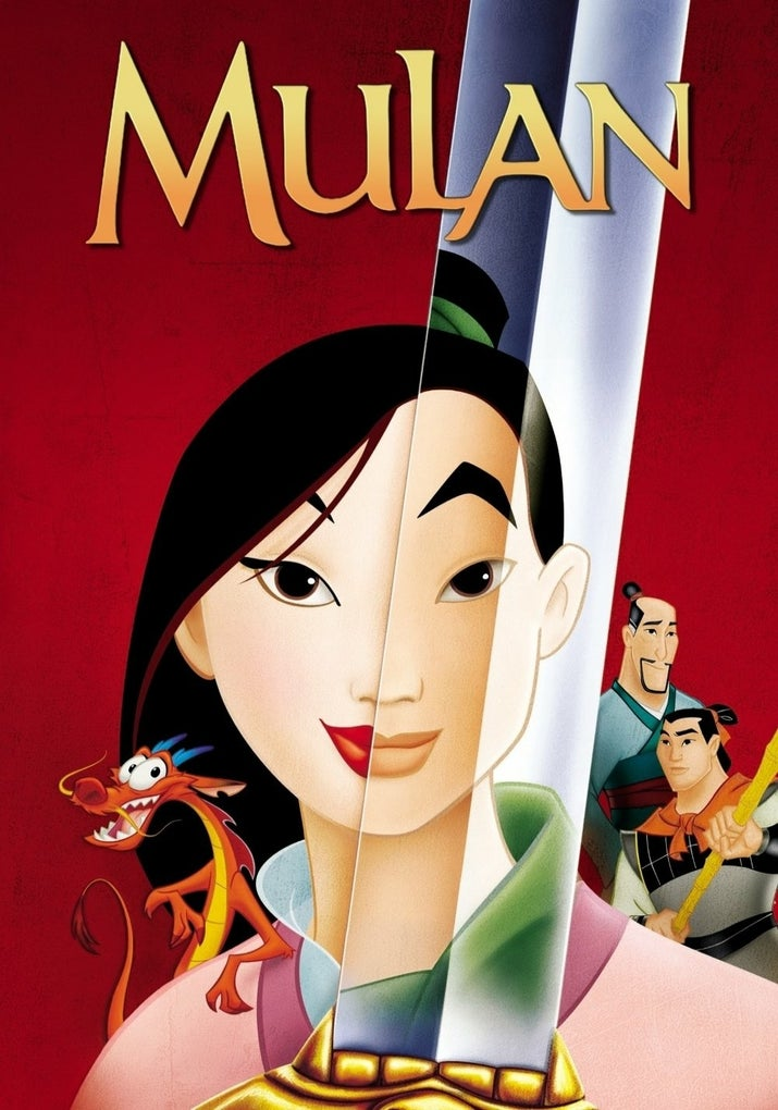 The 1998 film about a girl who joins the army in place of her father and becomes a heroic warrior has a 7.6 rating and over 194,000 votes.