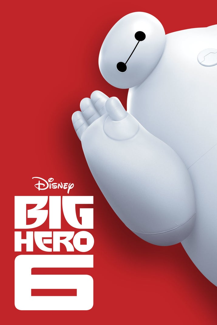 The story of a robot named Baymax and his heroic friends was a hit in 2014, and has a 7.8 rating from over 322,000 votes.