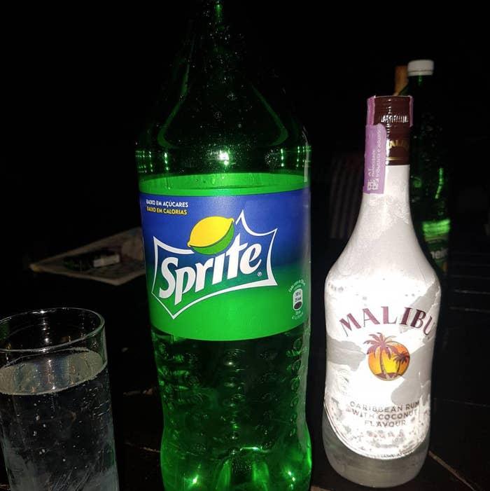 Uv blue alcohol content