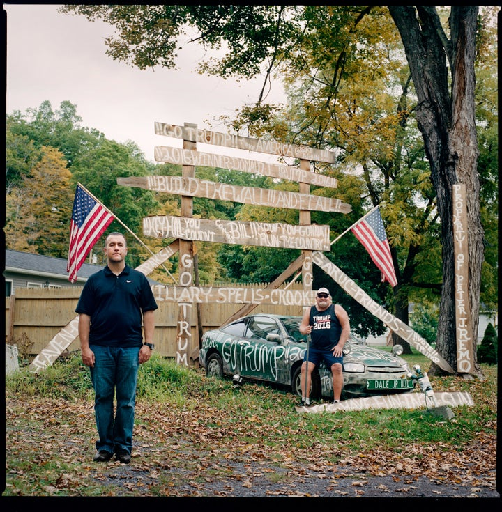 Jay Gurac (left) and Stevie Tirpak (right) of Oak Hill, New York