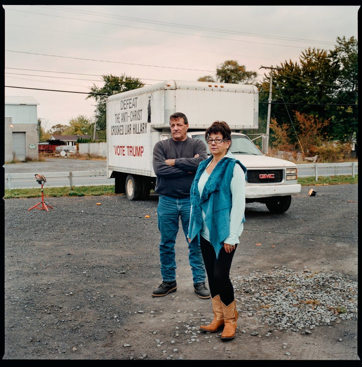 Brother and sister, Joe and Ann Marie Vadney of Selkirk, New York