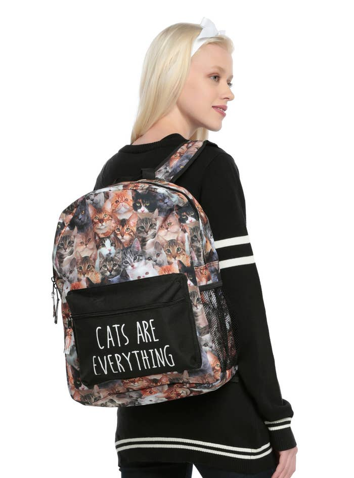 Guess the cat's on the bag.Price: $29.90
