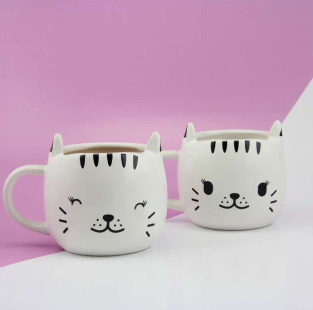 Happy Cat Heat Change Mug - $14