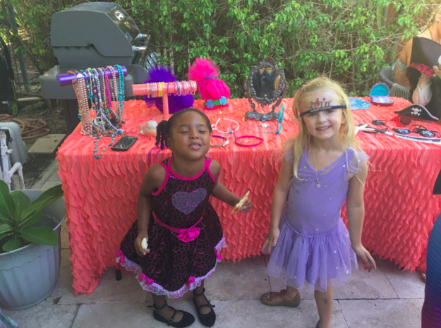 Recently, Jia and Zuri were out when they told some other little girls they were twins. The girls, according to Williams, told Zuri and Jia they couldn't be sisters.