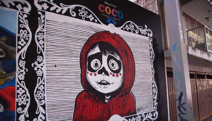 30 Increibles Murales De Coco Que Necesitas Ver En Cdmx