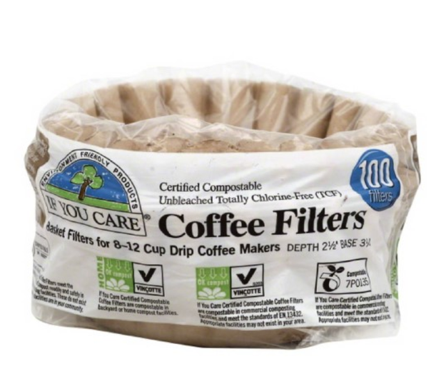 If You Care Compostable Coffee Filters, 100 Count (Pack of 12) - $27