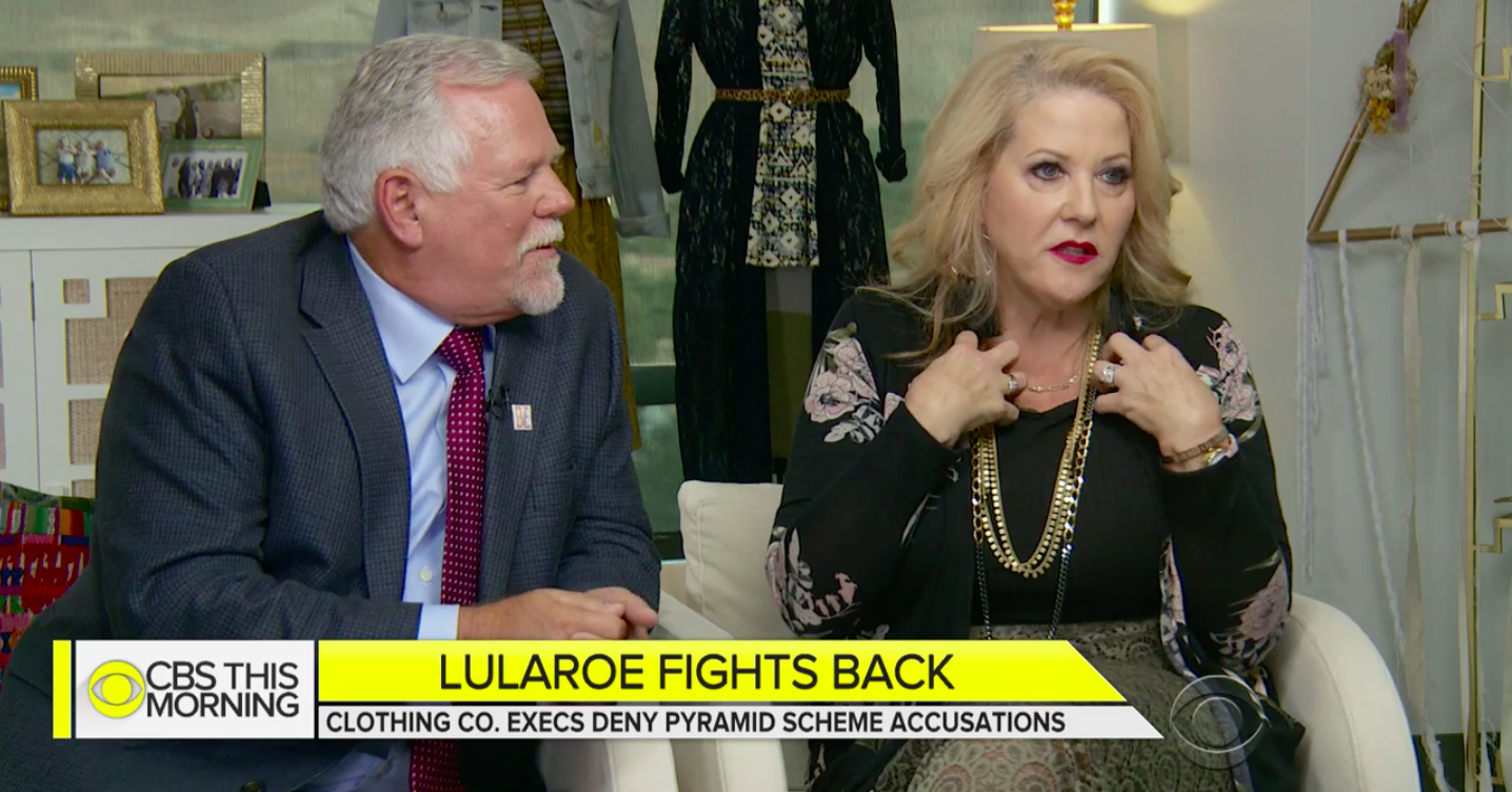The Founders Of Lularoe Say People Accusing Them Of Running A Pyramid Scheme Have An