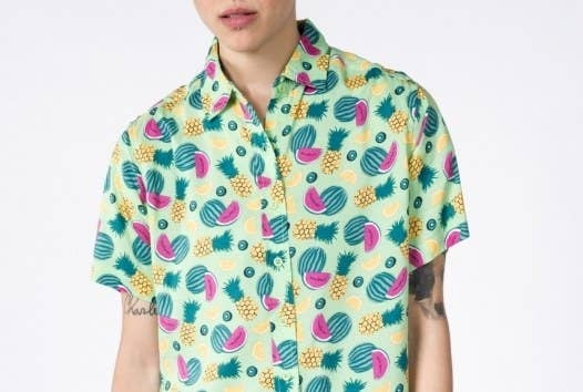b359dc492ab A colorful button-down covered in tropical fruits that ll just make your  day.