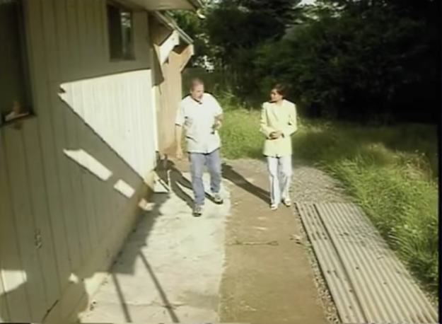Ward Weaver III is currently serving life in prison for the murders of Ashley Pond and Miranda Gaddis. But before his arrest took place, TV reporter Anna Canzano went to his home for an interview. He showed her around his house, in an attempt to prove his innocence. The video below shows Weaver walking on a slab of concrete where Ashley Pond's body was buried.