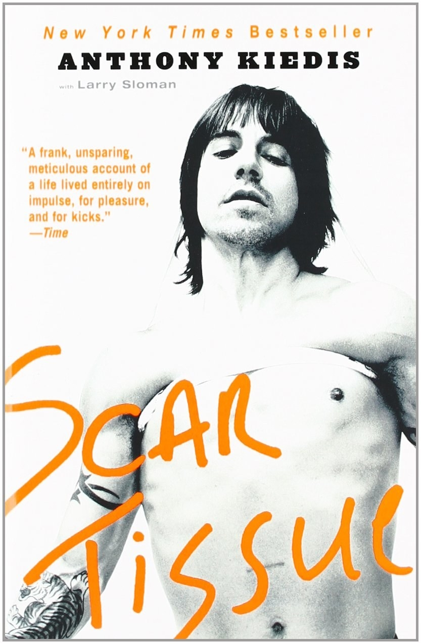 the rise and fall of anthony kiedis in the book scar tissue by anthony kiedis and larry sloman 'scar tissue' - by anthony kiedis of the red hot chili peppers the singer/lyricist of the red hot chili peppers has just come out with his autobiography, and i must say it is one amazing book the reason i find it amazing is that it exists, sort of like samuel johnson's appreciation of the dog that walked, albeit poorly, on its hind legs.