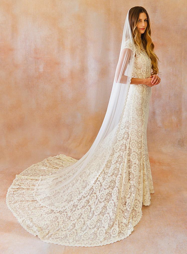 15 Lace Back Wedding Dresses  Weddings  Pinterest  Lace