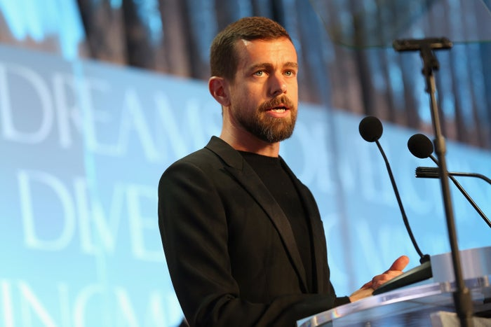 CEO of Twitter and Square Jack Dorsey accepts the award for CEO of the Year on November 21, 2016 in Washington, DC.