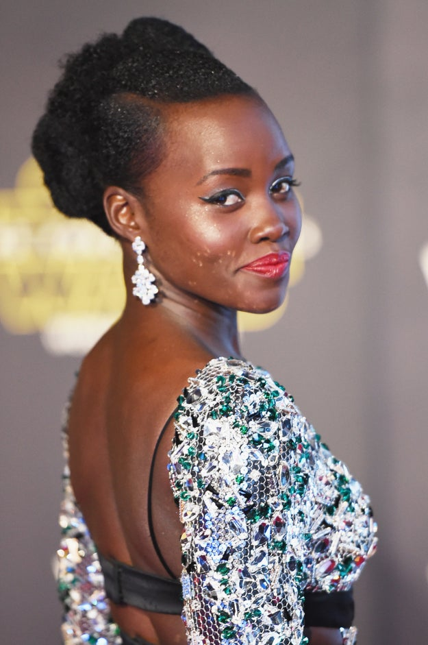 Oscar winner Lupita Nyong'o, ladies and gentlemen, knows her beauty and gives no fucks.