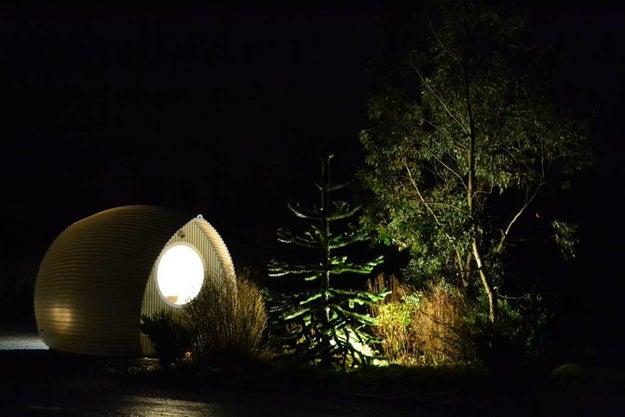 A hidden glamping pod beside Loch Tay.